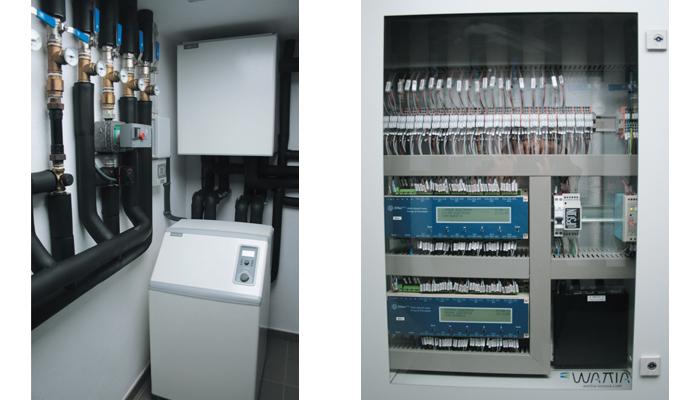 Radiograf a a un edificio de consumo energ tico cero - Bomba de calor consumo ...